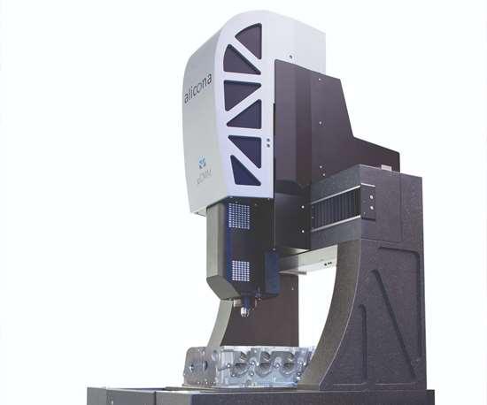 Alicona's µCMM 3D focus-variation measuring instrument