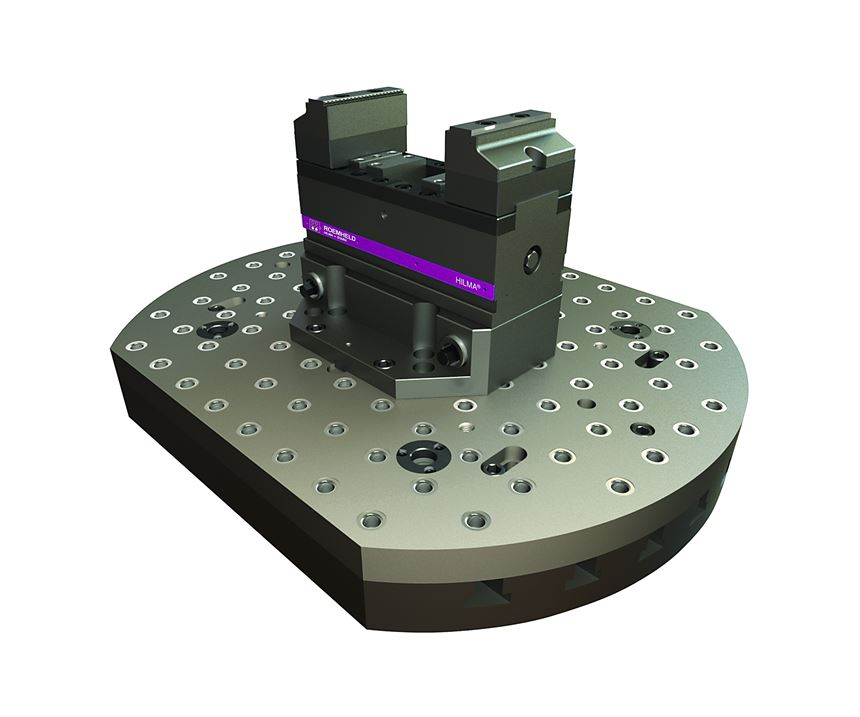 Carr Lane's CL5 workholding system