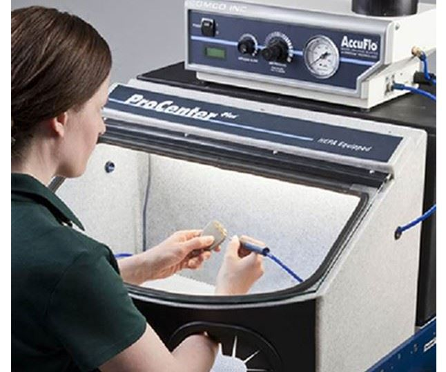 microblasting system