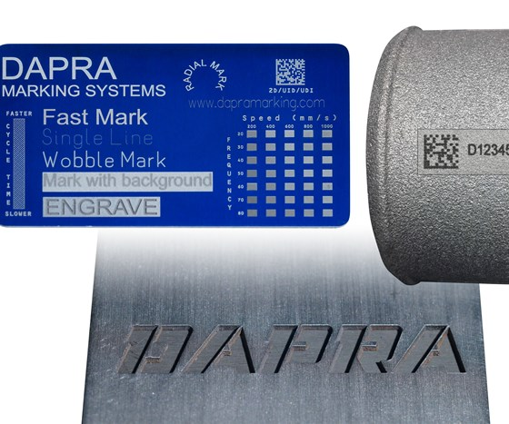 examples of items marked by Dapra products