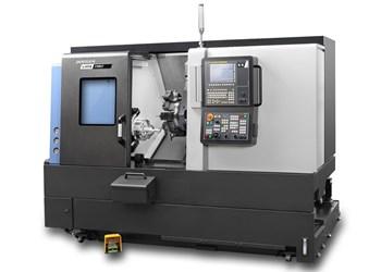 Doosan Lynx 2100LY compact turning center