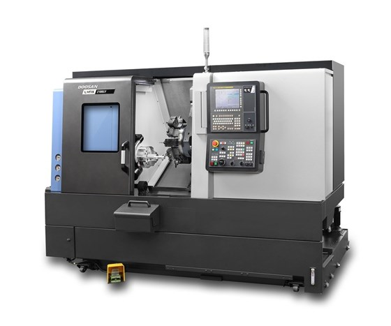 Doosan Lynx 2100LY compact turning center