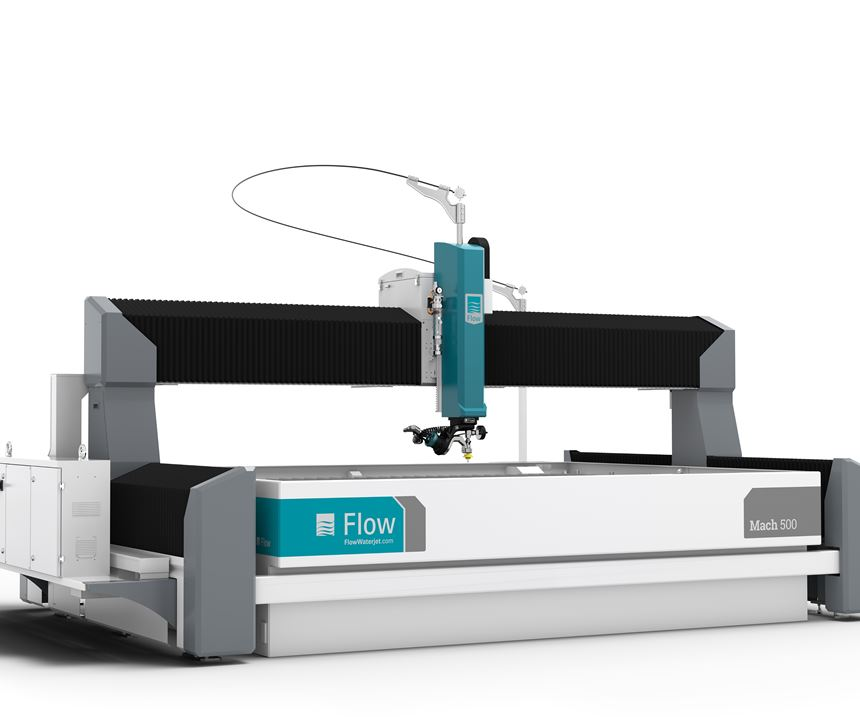 Flow International Mach 500 waterjet
