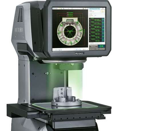 Automated Optical Comparator Can Check 99 Parts At Once