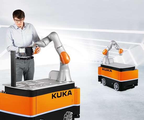 Kuka KMR iiwa mobile robot