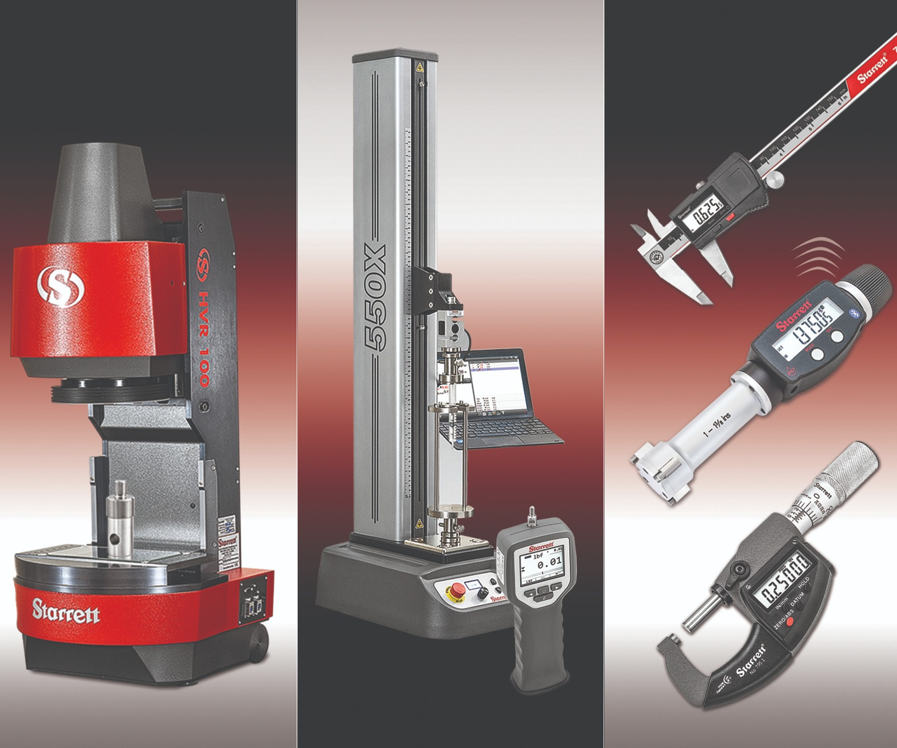 Starrett metrology tools