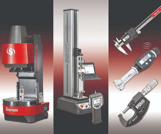 Starrett metrology tools