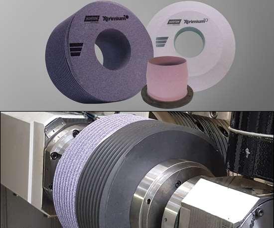 dual-worm grinding wheel