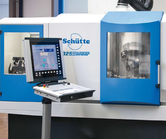 Schütte 325linear five-axis CNC grinder