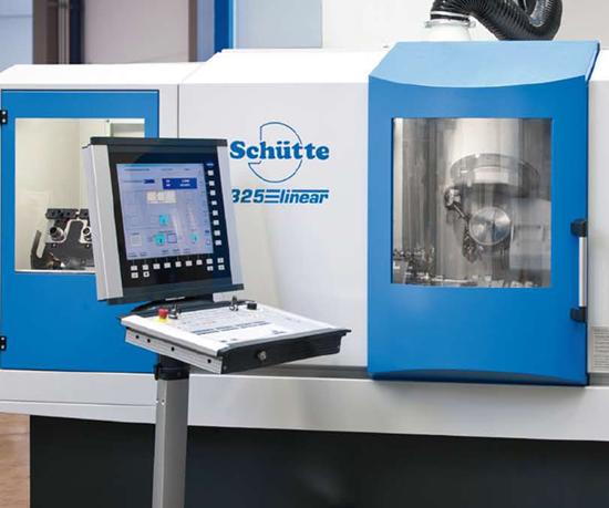 Schütte 325linear five-axis CNC grinder