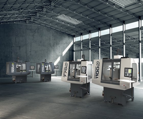 Tormach 1100M and 770M milling machines