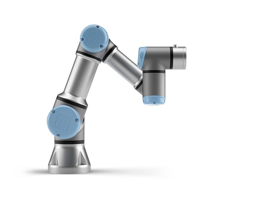 Universal Robots presenta los brazos robóticos de la serieUR en IMTS 2018.
