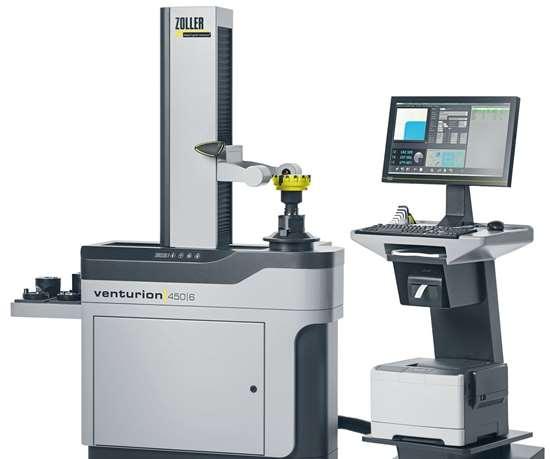 Zoller Venturion presetting and measuring machine