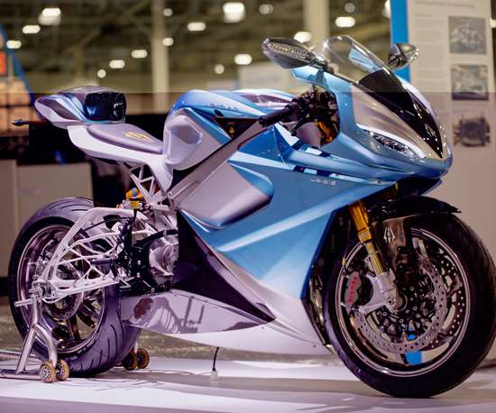 Autodesk generative design software for Lightning Motorcycles