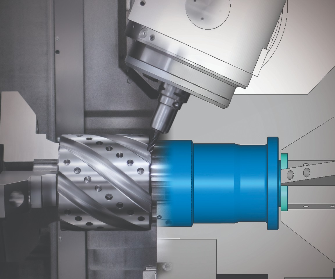 digital twin of main shaft machining