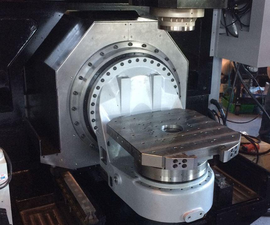 Quaser five-axis machine tool