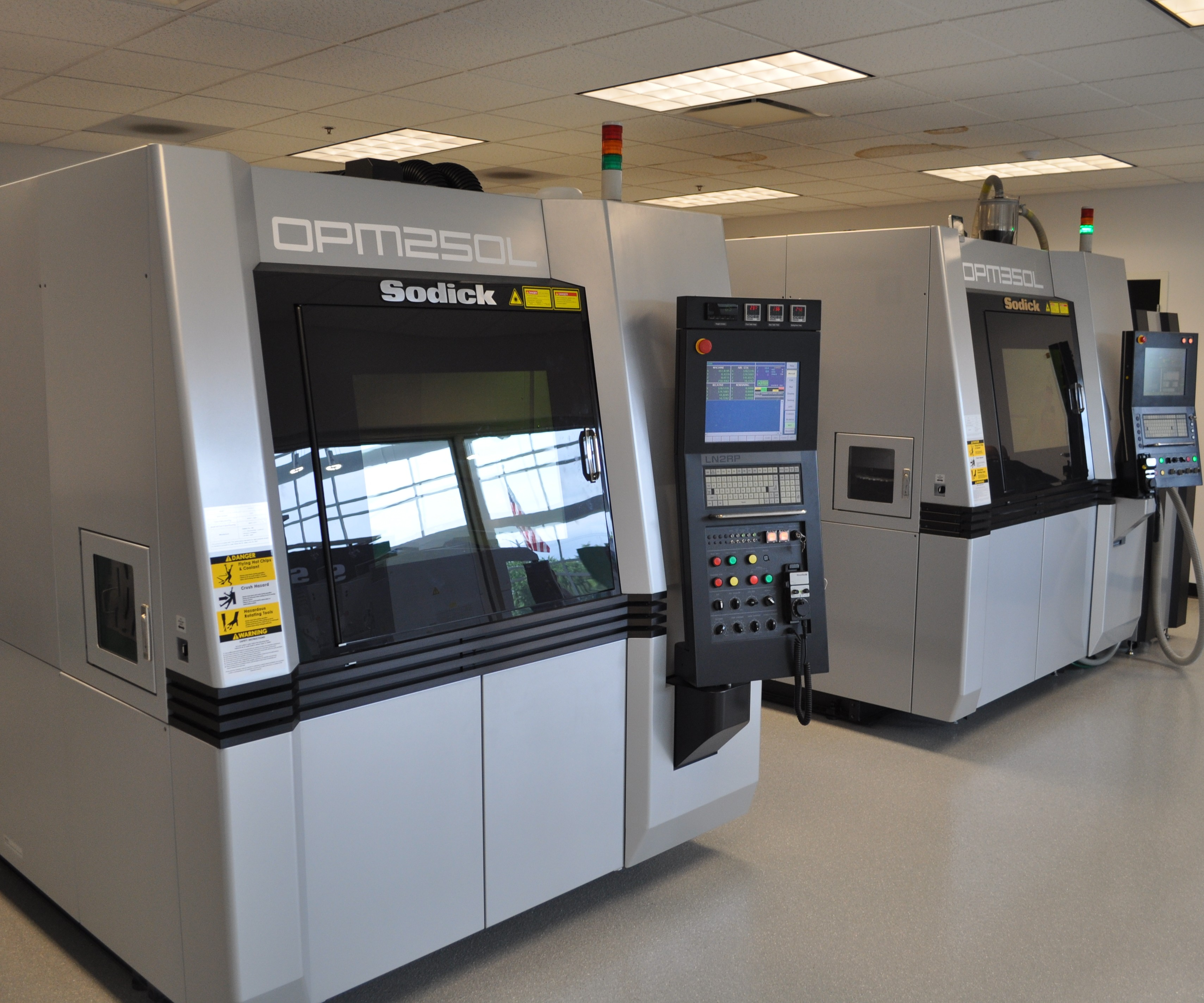Sodick hybrid machines for Modern Machine Shop