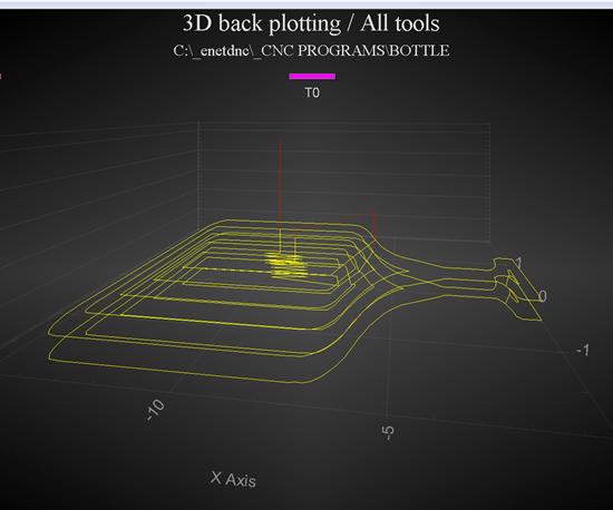 screenshot of 3D back plotting