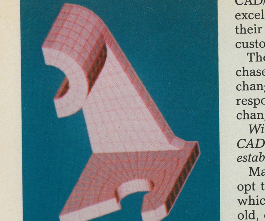 Shaped CAD image.