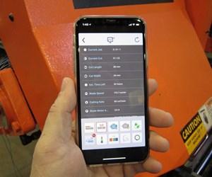 Cosen Sawlogix app for cnc band saws