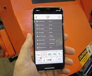 Cosen app for CNC saws for blade life prediction