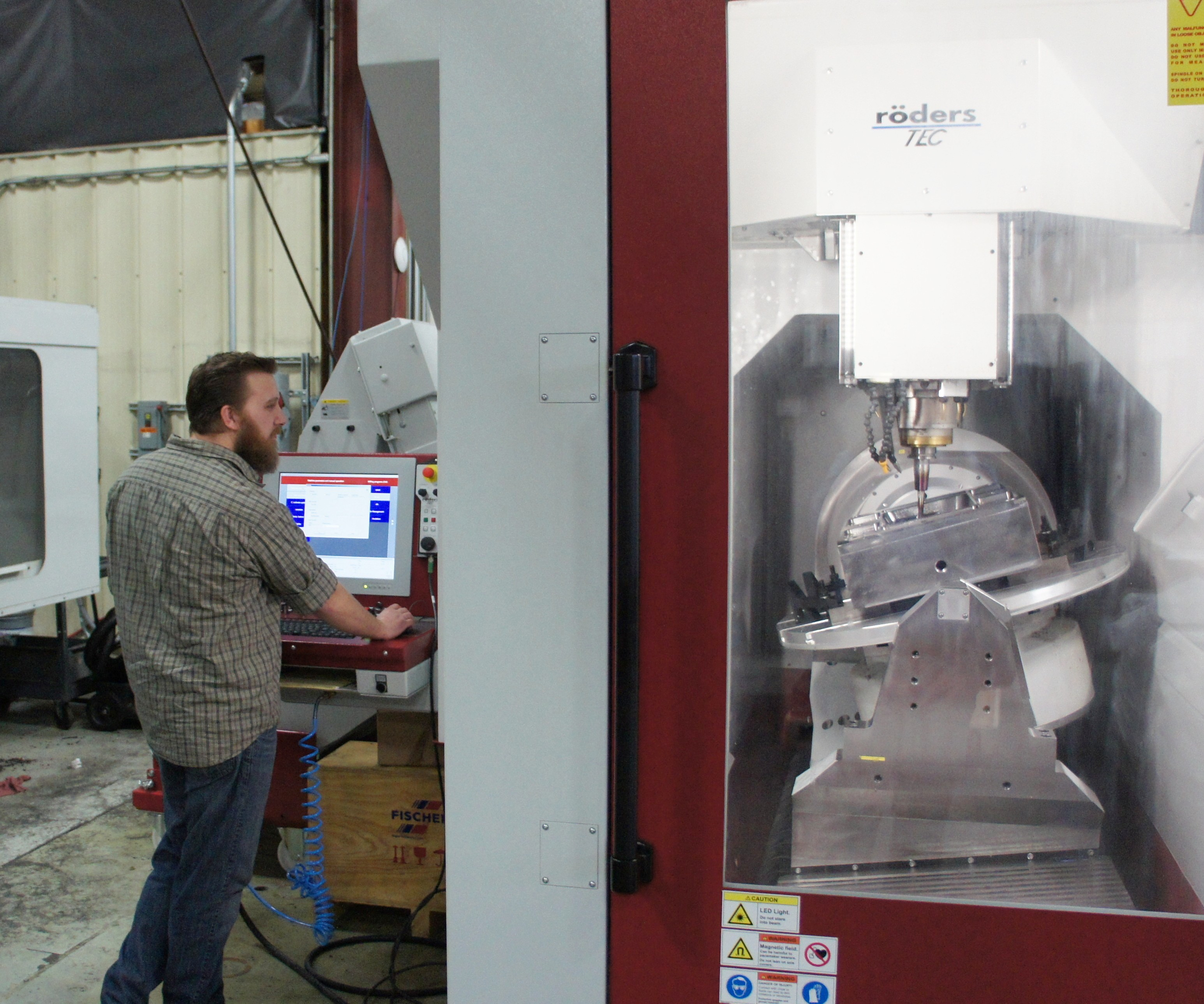 Meta: A five-axis Roders RXU 1001 DSH machining center is the latest and most advanced machinin center to be installed at Precise Tooling Solutions.