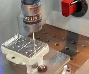 Scanning probe for faster CNC machine tool setups