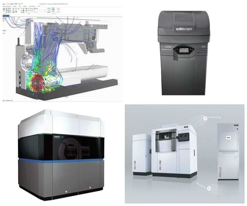 Additive manufacturing products