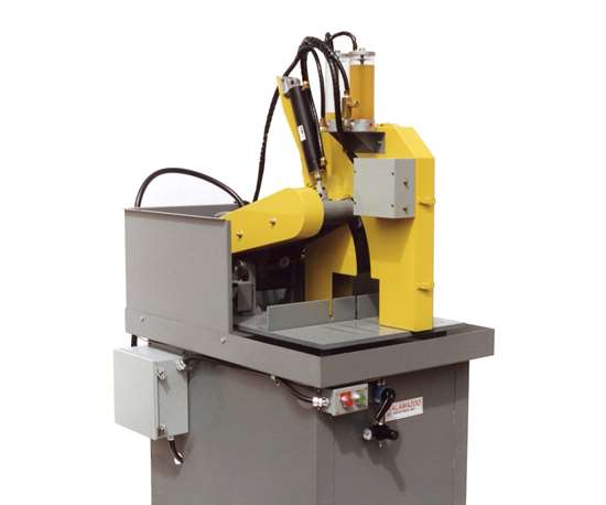 Kalamazoo K20SW semi-automatic wet cutoff saw
