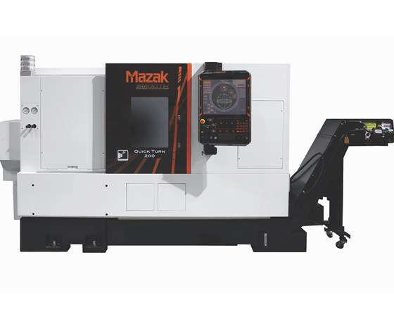 Mazak Quick Turn 200 two-axis turning center