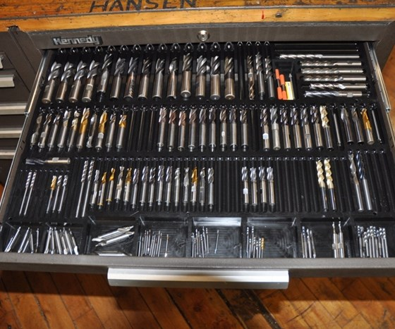 Tool Trays Prevent End Mill Damage Modern Machine Shop