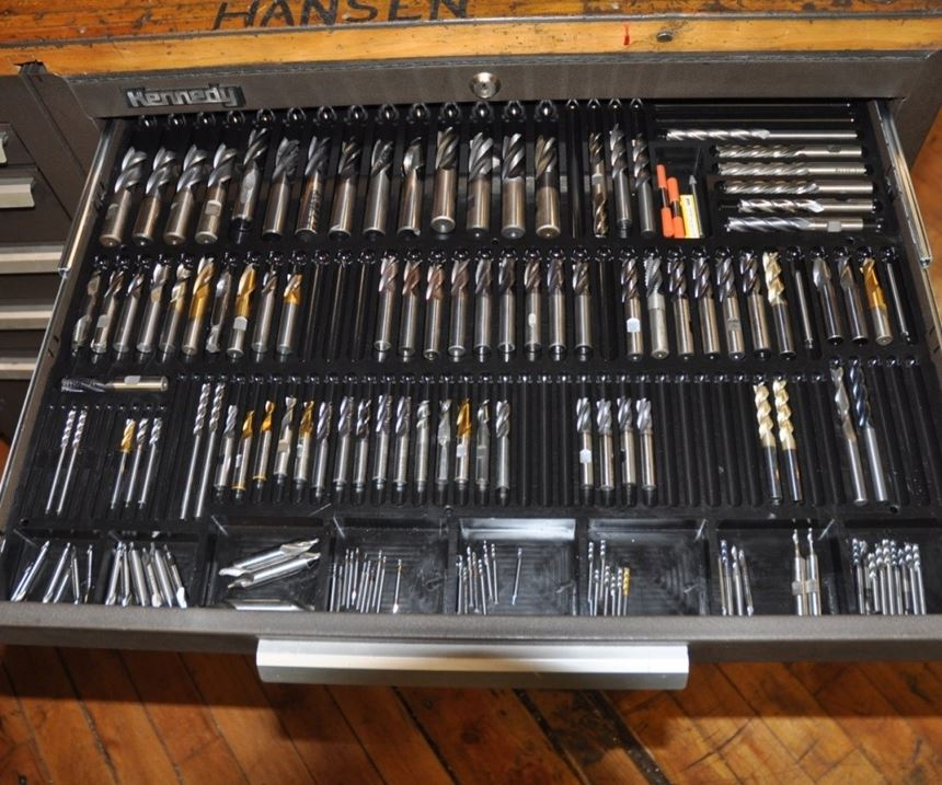ToolTray.org organizational solutions for end mills
