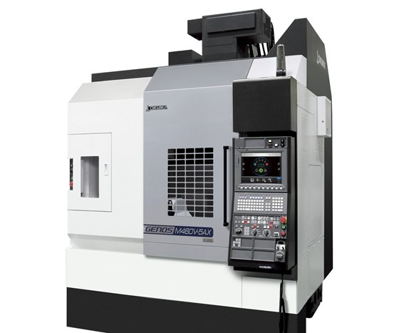 Okuma America five-axis Genos M460V-5AX VMC