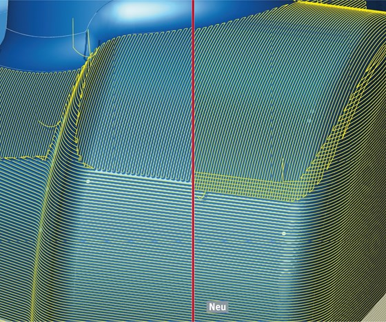 CAD/CAM software screenshot