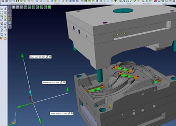 CAD/CAM screenshot