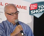 Bill Metz of Richards Industries speaks at the 2017 Top Shops Conference