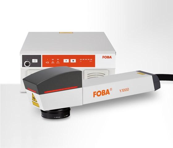 Foba Y.1000 fiber laser