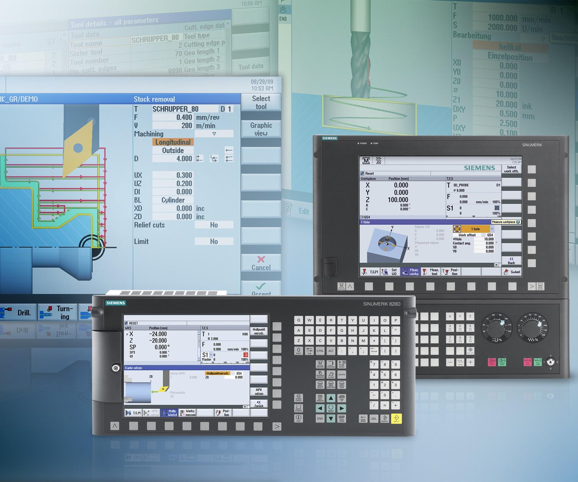CNC Interface Facilitates Manufacture of Complex Workpieces