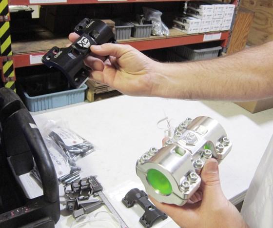 aluminum motorcycle handlebar mount