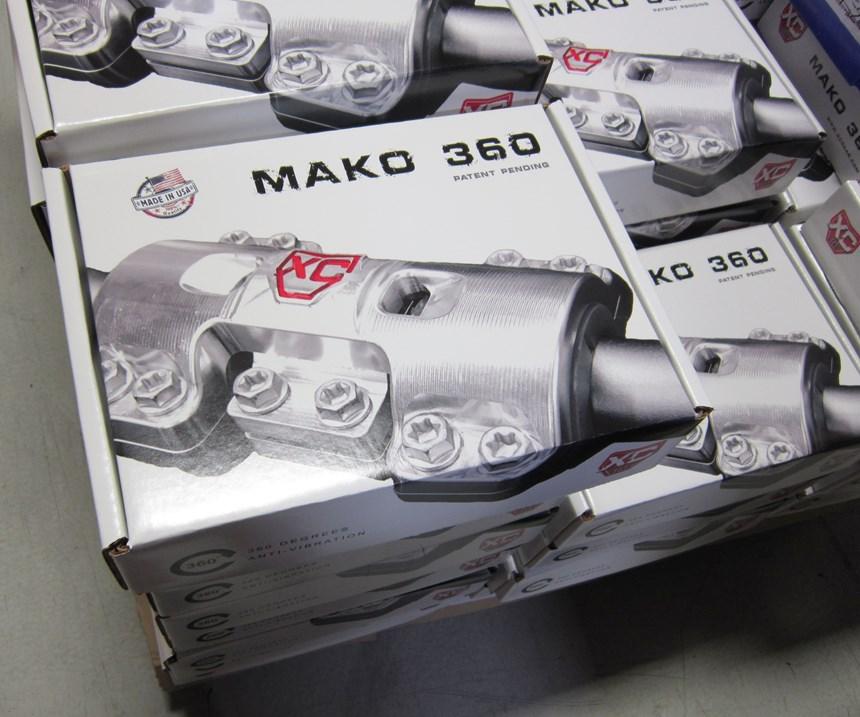 Mako 360 motorcycle handlebar mounts