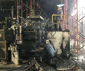 Dotson Iron Castings fire recovery