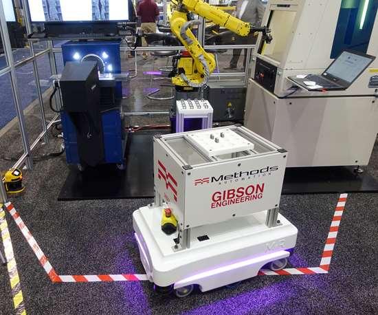 Methods Machine Tools' micro-factory.