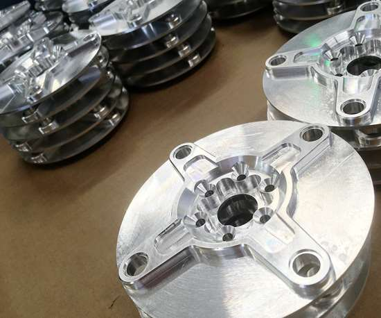 Workpieces machined at Rise Up Industries