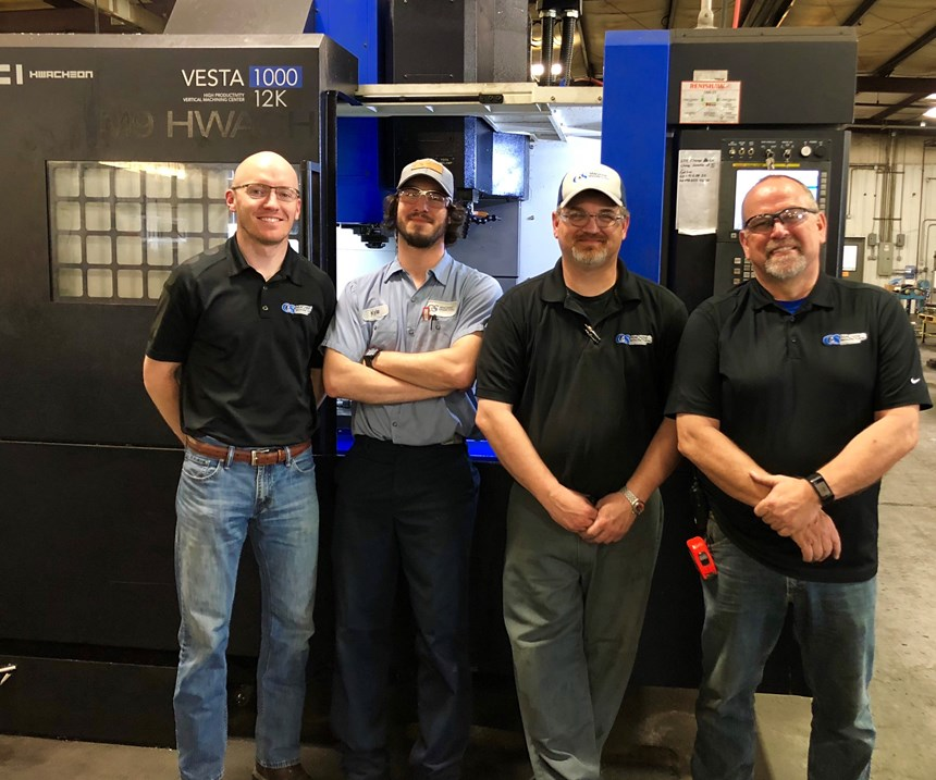 machinists in the shop