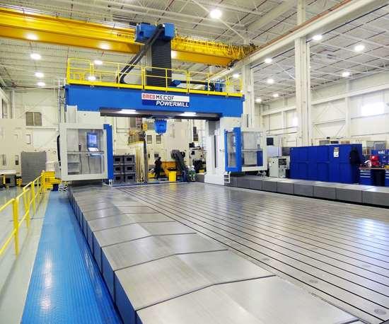 Baker Industries CNC gantry mill