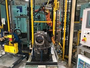 Okuma Machining Center for machining Axle housing