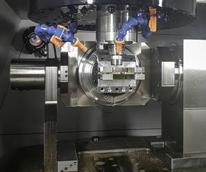 High-End Watchmaker Eliminates Offshoring with Five-Axis Machining Center