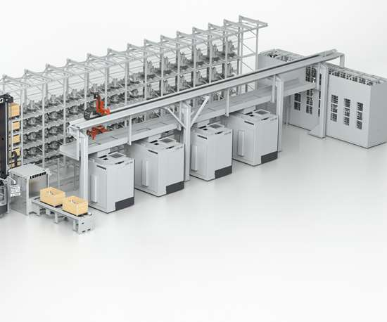 Liebherr Automation Systems' PHS Allround pallet handling system