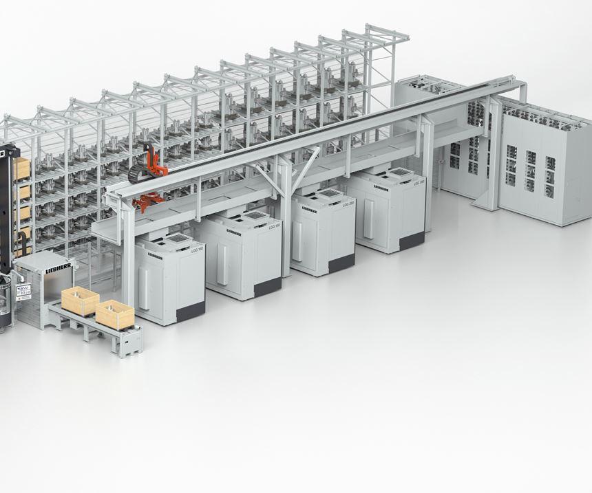 Liebherr Automation Systems' PHS Allround pallet handling system