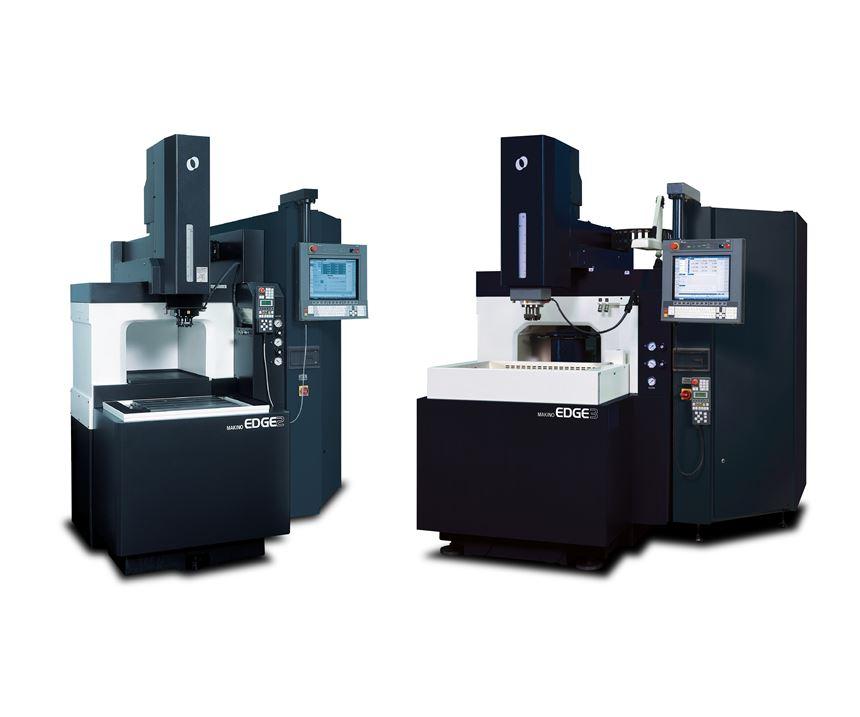 Makino's Edge2 and Edge3 electrical discharge machines (EDMs)